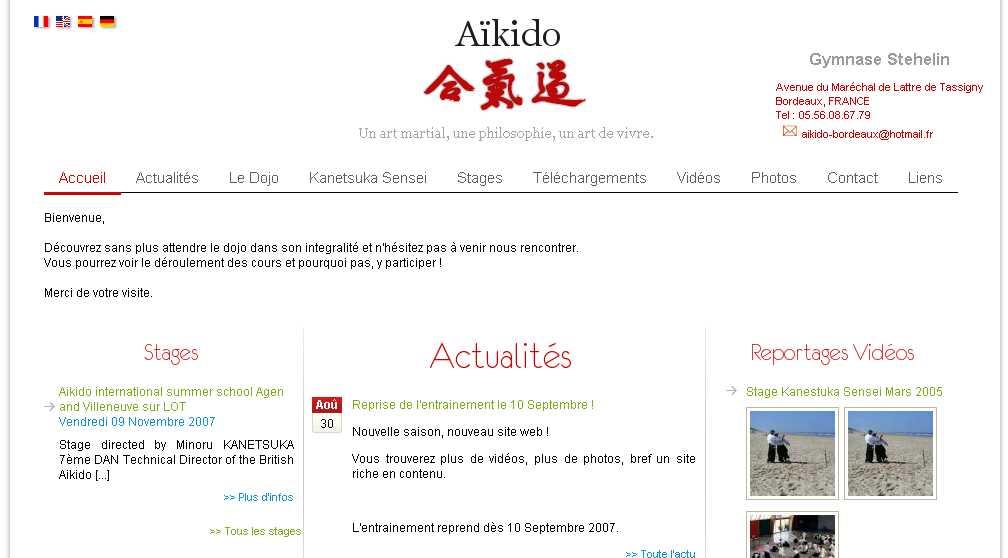 Aikido - Bordeaux